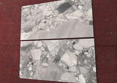 Cube Grey Marble Vanity Top