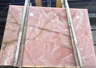 Pink Onyx Marble Slab