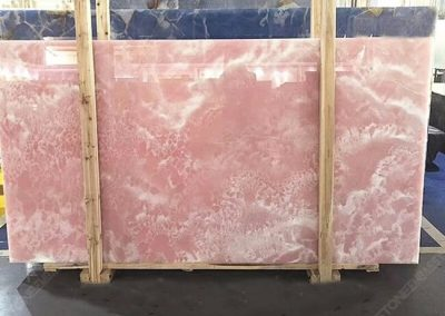 Pink Onyx Slab