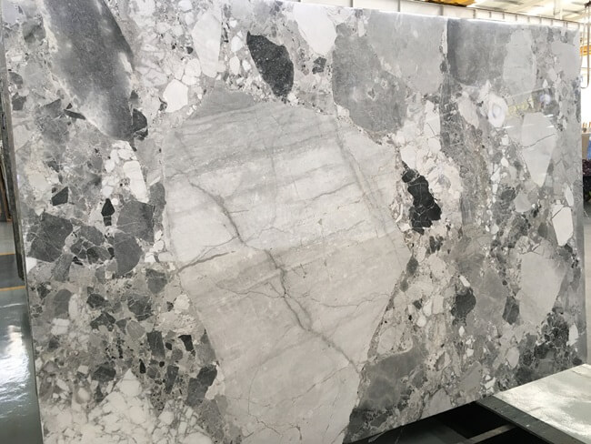 Polished Cube Grey Slabs