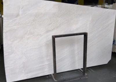 Rhino White Marble Slab