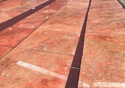 Vein Cut Redd Travertine Tiles