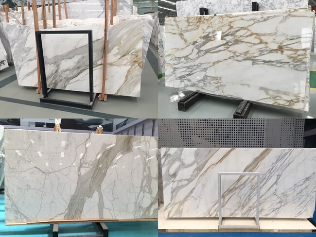 calacatta gold marble slabs