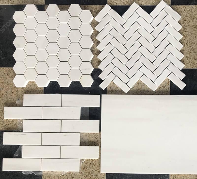 dolomite marble mosaic tile