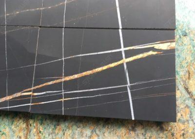 honed sahara noir marble tiles