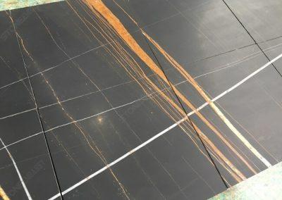 honed sahara noir tiles
