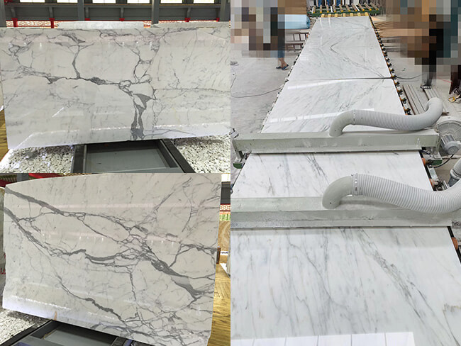 natural white statuario marble slabs