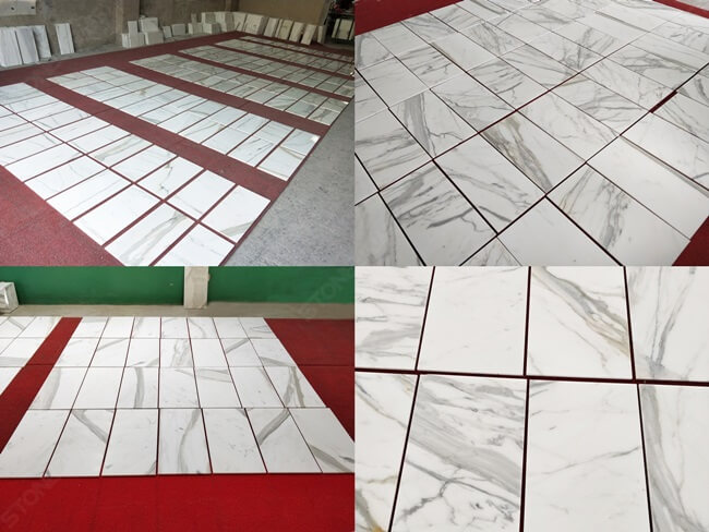 Calacatta Marble Thin Tiles