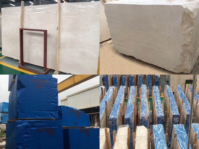 Crema Marfil Marble Stocks