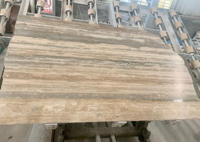 Honed And Filled Slabs for Silver Travertine Tiles