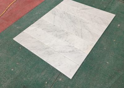 carrara marble threhold