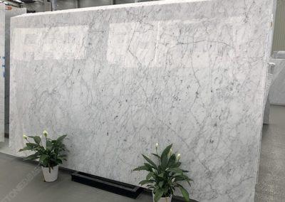 carrara white marble big slabs