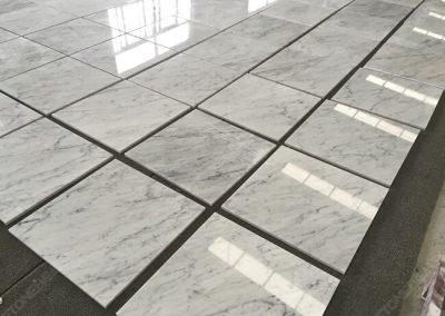 carrara white marble tiles