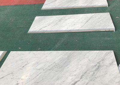 carrara white marble tops