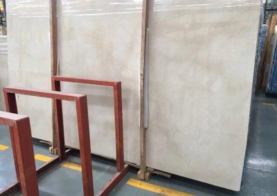 crema marfil marble slab (2)