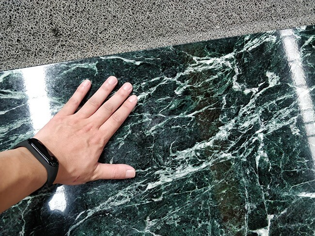 emerald green marble texture