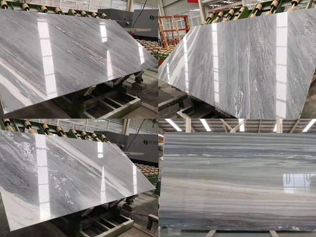 Palissandro Bluette Marble Slab Different Types