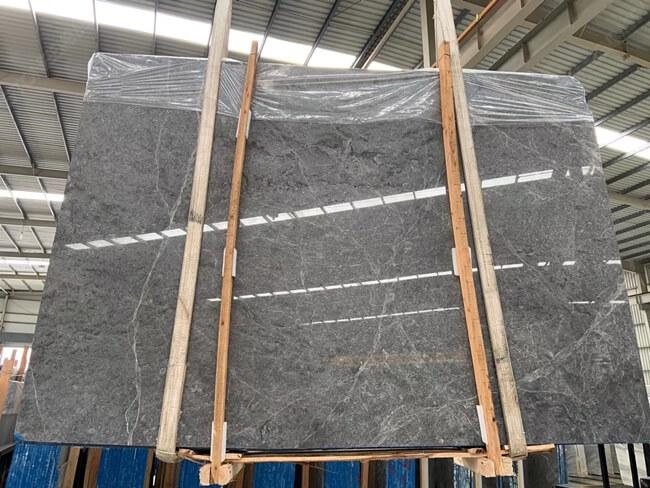 SEBGF12484 Instock Grey Polished Emperador Slabs 2700x1960x18mm