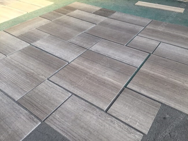 grey wooden marble tile