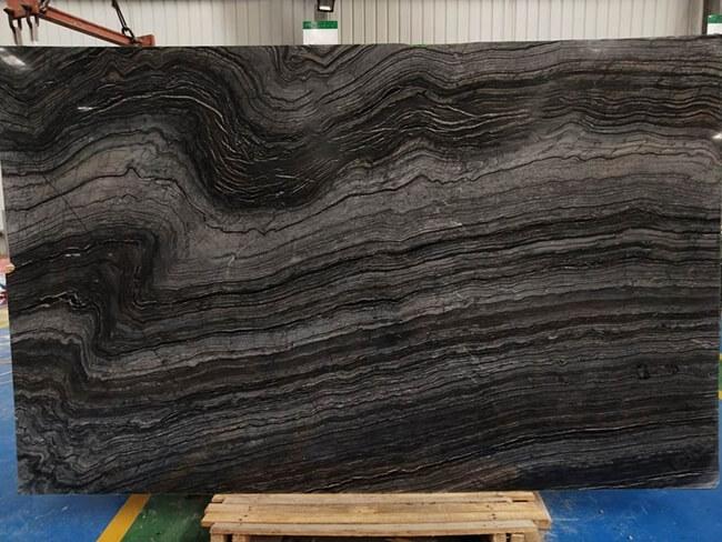 polished jurassic marble slab